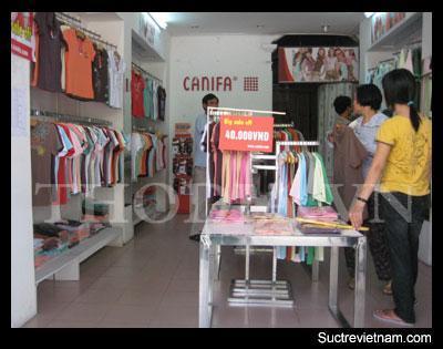 shop thoi trang canifa 2 21072008021255 Đi tìm các khu phố ngập tràn rất nhiều shop thời trang